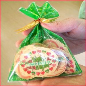 バレンタインプレゼントせんべい6枚セット(ピロ個装無し)(塩胡麻バター小判煎餅)|uminekotayori