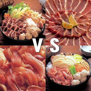 鍋勝負セット 青森鴨鍋とシャモロックせんべい汁鍋の2個セット|uminekotayori