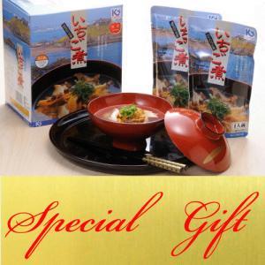うにとあわびの「いちご煮スープ」(スタンドパック)5個箱入り|uminekotayori