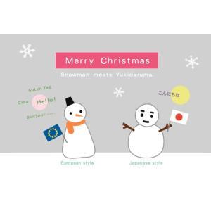 ユカコさんの「スノーマン・クリスマスカード」|uminekoya