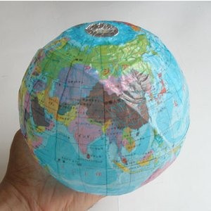 地球儀紙風船|uminekoya