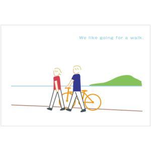 「水辺をあるく」ユカコさんのポストカード|uminekoya