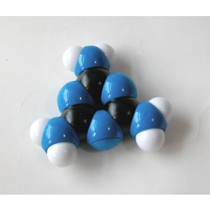 YYS原子ブロック「メラミン分子(C3H6N6)」|uminekoya