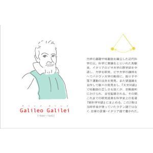 ユカコさんの「科学者ポストカード」4枚セット|uminekoya