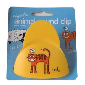 どうぶつの鳴き声がするマグネットクリップ Magnetic animal sound clip uminekoya