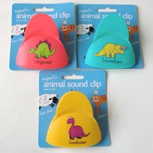 どうぶつの鳴き声がするマグネットクリップ Magnetic animal sound clip uminekoya 05