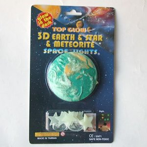 3D大宇宙・スペースライト 3D planet & star & meteorite /space lights|uminekoya