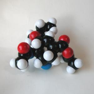 YYS原子ブロック「オセルタミビル分子(C16H28N2O4 )」|uminekoya