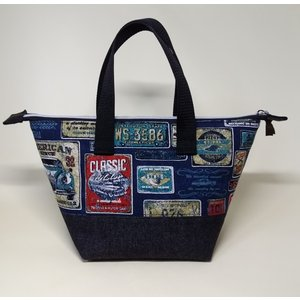 保冷ランチバッグ お弁当トートバッグ HB-004|umiumi-pocket