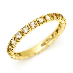 【商品番号:RG1142】 指輪 リング エタニティーリング 18K 18金 ゴールド ピンクゴール...