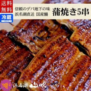 国産うなぎ ウナギ串蒲焼5串ギフトセット 送料無料...