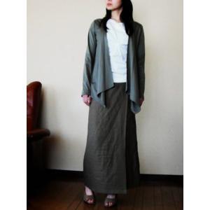 型紙/マキシ・ラップスカート