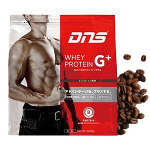 DNS G+ プロテイン ジープラス エスプレッソ風味 1kg /水でおいしい グルタミン|under100s
