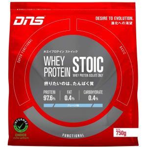 DNS ストイック プロテイン ホエイ WHEY PROTEIN STOIC 1kg プレーン味/タンパク質 高品質|under100s