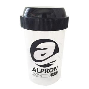 アルプロン プロテイン シェイカー ボトル 300ml ブラック|under100s