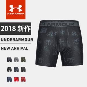 ☆アンダーアーマー メンズ インナー ボクサー パンツ アンダーウェア 下着 UA オリジナルシリーズプリントジョック フィッティド トレーニング ランニング ゴル