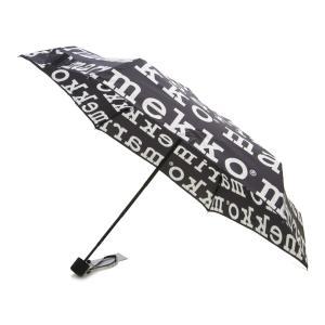 マリメッコ 折り畳み傘 MARILOGO MINI MANUAL UMBRELLA 041399