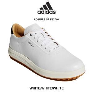 adidas(アディダス)ゴルフシューズ レザー スパイクレス メンズ ADIPURE SP F33...