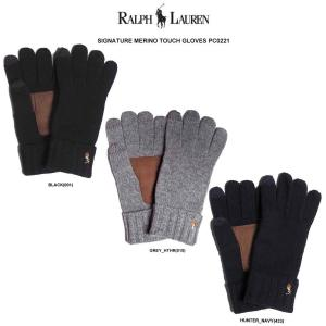 POLO RALPH LAUREN(並行輸入品)  大人気ラルフローレンの手袋。 洗練されたデザイン...