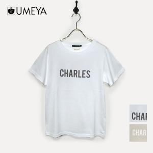 シンプルロゴTシャツ une-chance