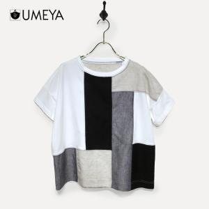 パネル切替Tシャツ une-chance
