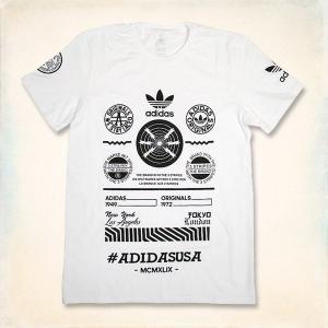 メール便送料無料!! adidas Originals Electric Graphic Logo Tee アディダス オリジナルス エレクトリック グラフィックロゴ 半袖Tシャツ ホワイト