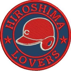 広島東洋カープ 刺繍ワッペン HIROSHIMA C (H-0014) カープユニフォーム CARP...