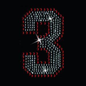 広島カープ ワッペン ラインストーン 3 (RS-0004) カープユニフォーム CARP 広島東洋カープ カープ女子 応援歌 刺繍 メール便 アイロン uneemb-store