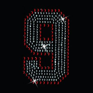広島カープ ワッペン ラインストーン 9 (RS-0010) カープユニフォーム CARP 広島東洋カープ カープ女子 応援歌 刺繍 メール便 アイロン uneemb-store