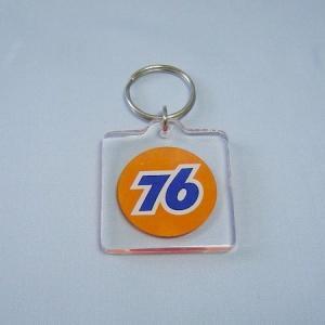 76 アクリルスクエアキーホルダー|uni76