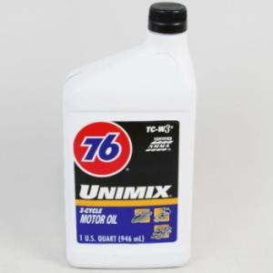 76 2Tモーターサイクルオイル(ユニミックス/クォートボトル)|uni76