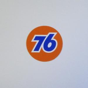 76 ステッカー(76オレンジボールS)|uni76