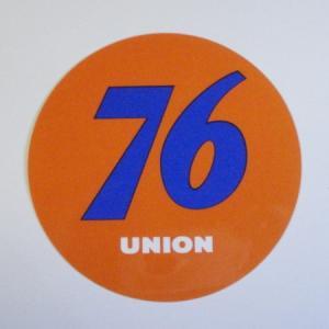76 ステッカー(76クラッシックボールM)|uni76