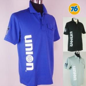 76 カノコ半袖ポロシャツ1608|uni76
