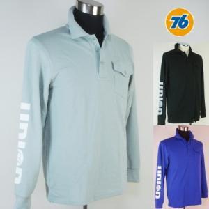 76 カノコ長袖ポロシャツ1609|uni76