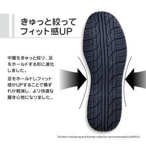 76 メッシュ安全スニーカー(鋼鉄先芯)1704|uni76|03