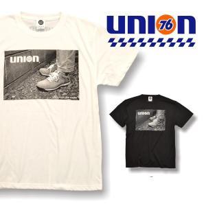 76 DRYコットンタッチ プリントTシャツ1812|uni76