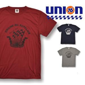 76 DRYコットンタッチ プリントTシャツ1813|uni76