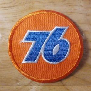 76 ワッペン091-1 (76オレンジボール)|uni76
