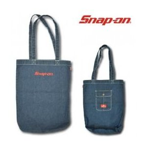 Snap-on デニムトートバッグ1602 ストーンウォッシュ|uni76