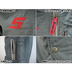 Snap-on フライトジャケット(MA-1)1608|uni76|03