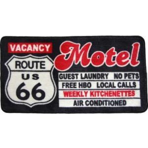Route66 フロアマット(MOTEL)|uni76