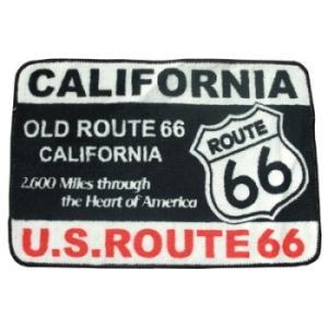 Route66 フロアマット(CALIFORNIA)|uni76