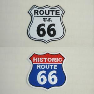 Route66 アメリカンロゴワッペン|uni76