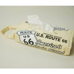 Route66 ループ付ティッシュカバー|uni76