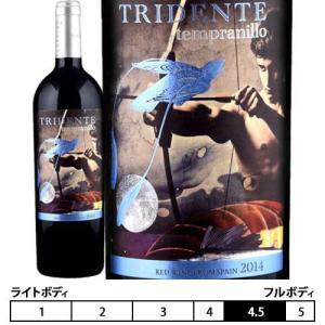 トリデンテ テンプラニーリョ[2015]ボデガス トリデンテ 赤750ml Bodegas Tridente Tridente Tempranillo|unibiswine