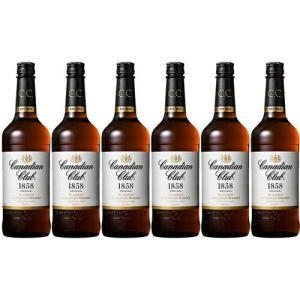 【正規品】カナディアンクラブ/Canadian Club サントリー正規品 ビン・瓶 カナダ  700ml 40.0% カナディアンウイスキー  ハイボールにおすすめ 6本セット 1箱 …|unibiswine