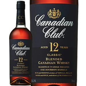 【正規品】カナディアンクラブ クラシック 12年/Canadian Club サントリー正規品 ビン・瓶 カナダ  700ml 40.0% カナディアンウイスキー  ハイボールにおすすめ|unibiswine