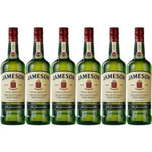 【正規品】ジェムソン/JAMESON ビン・瓶 アイルランド  700ml 40.0% アイリッシュウイスキー ハイボールにおすすめ 6本セット 1箱 業務用 飲食店におすすめ プ…|unibiswine