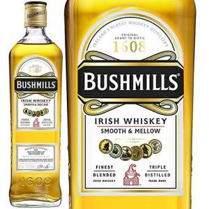 ブッシュミルズ/Bushmills 1本/ビン・瓶 アイルランド  700ml 40.0% アイリッシュウイスキー ハイボールにおすすめ|unibiswine